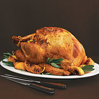 Roast Turkey with Sage and Orange Gravy