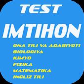 Test Imtihon