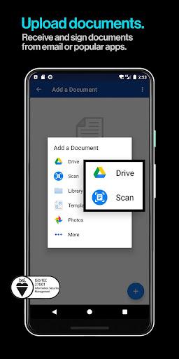 DocuSign - Upload & Sign Docs screenshots 3