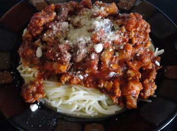 Maw's Spaghetti Recipe