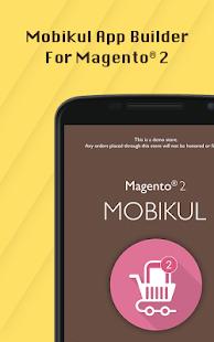 Magento2 Mobikul Mobile Application Builder - náhled