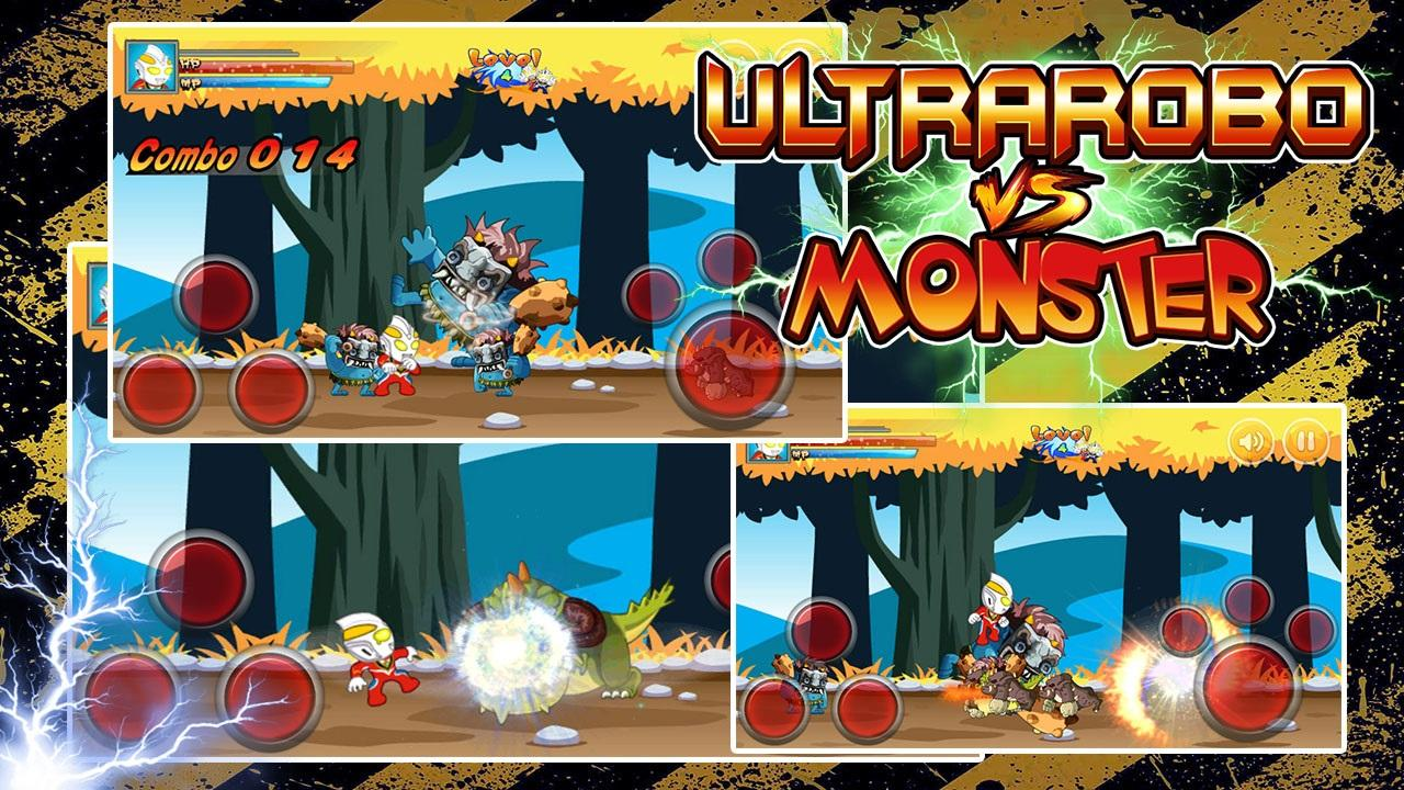 Ultra robo fight Monster Man- screenshot