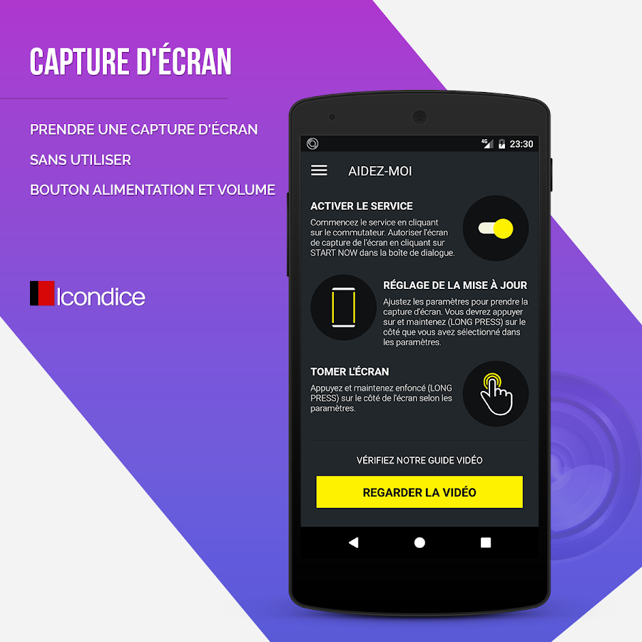 Capture d 39 cran applications android sur google play for Capture 2cran