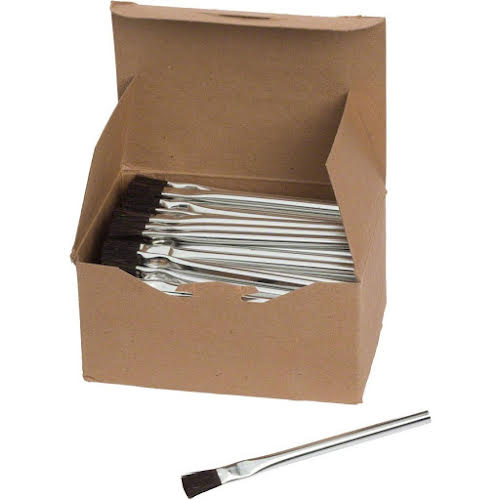 "Brush Research Brush Research 1/2"" Wide Acid Brushes Box of 144"