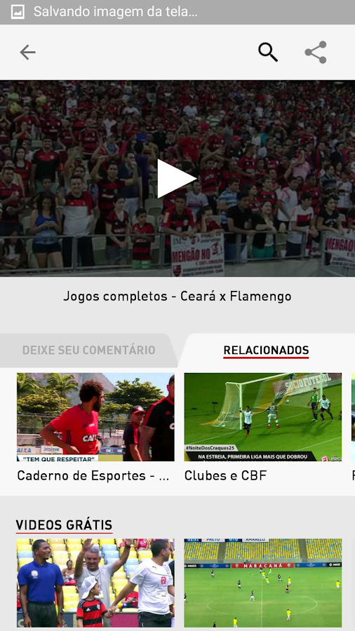 Esporte Interativo Plus - Liga- screenshot