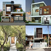 face house front elevation design