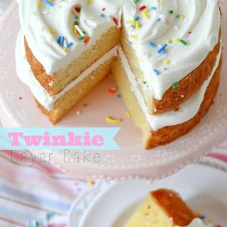 Twinkie Layer Cake.