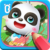 Little Panda's Drawing Board