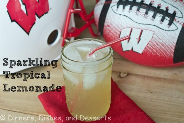 Sparkling Tropical Lemonade