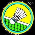 Badminton score icon