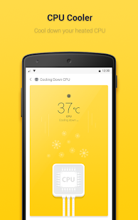 Yellow Booster – Clean & Boost- screenshot thumbnail
