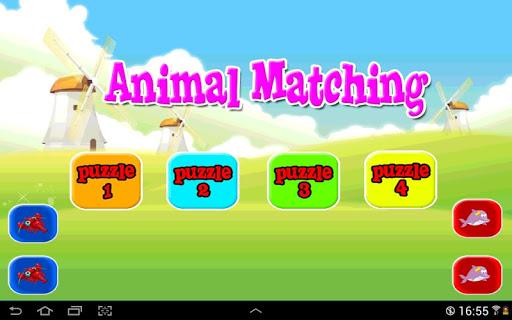 Drag Match Animal
