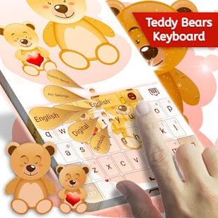 Teddy Bears Keyboard - náhled