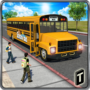 Schoolbus Driver 3D SIM for PC and MAC