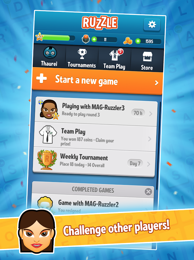 Ruzzle Free- screenshot