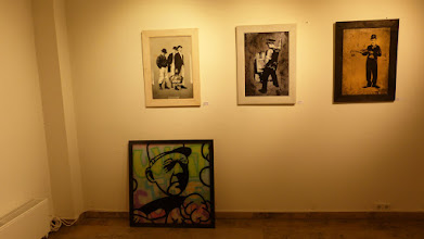 Photo: CityLeaks 2015; Ausstellung Galerie 30Works; MISTER P & ROURKE VAN DAL