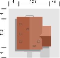 Adorator - Sytuacja - Adorator z garażem jednostanowiskowym