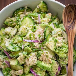Avocado Tuna Salad.