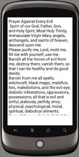 Deliverance prayer against evil - náhled