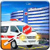 Real Ambulance Rescue Driving