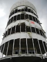 """Photo: Juni 2011 Erdheilungsreise nach Berlin auf den Teufelsberg zur ehemaligen Stasi-Abhörstadion Wir waren ganz oben im Turm....lese die Geschichte dazu unter """"Aktuelles"""""""