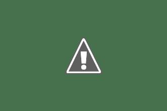 Photo: La plage est fréquentée sans être saturée. Une petite vie commerçante s'épanouit à l'ombre des arbres qui bordent la plage.