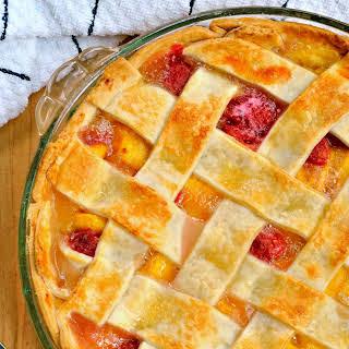 Peach Raspberry Pie.