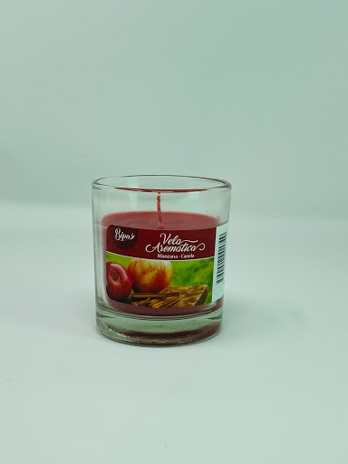 vela bipa aromatica manzana y canela