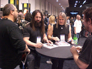 Photo: John Petrucci and Steve Morse