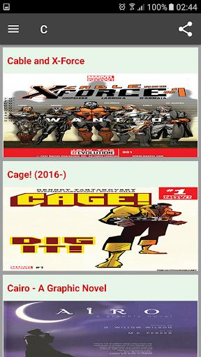 Read Comic Online 1.0 screenshots 2