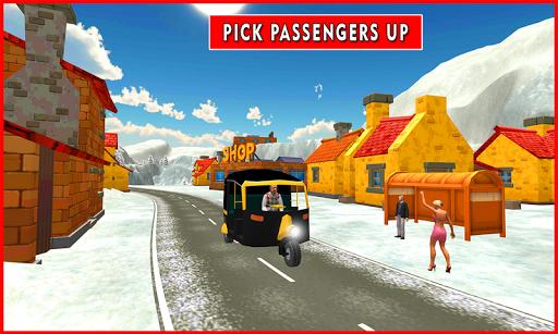 Drive Snow Tuk Tuk Rickshaw