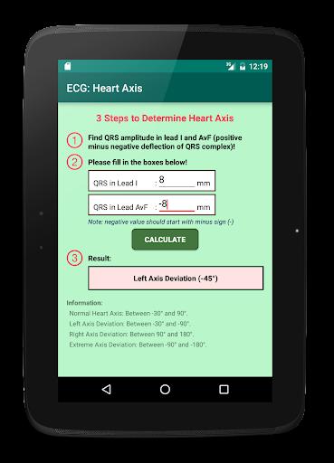 玩醫療App|ECG:ハート軸免費|APP試玩