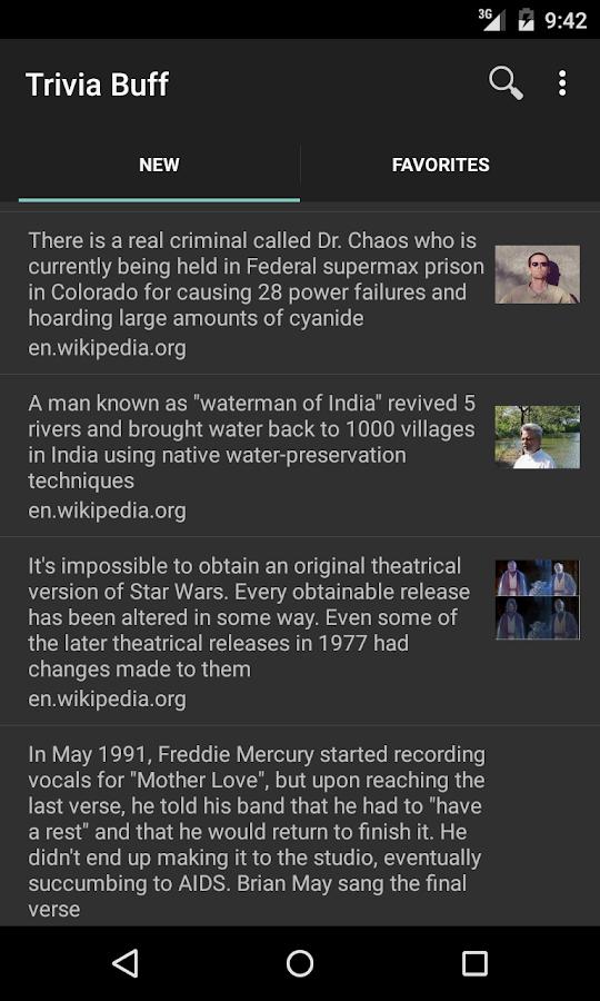 Trivia Buff- screenshot