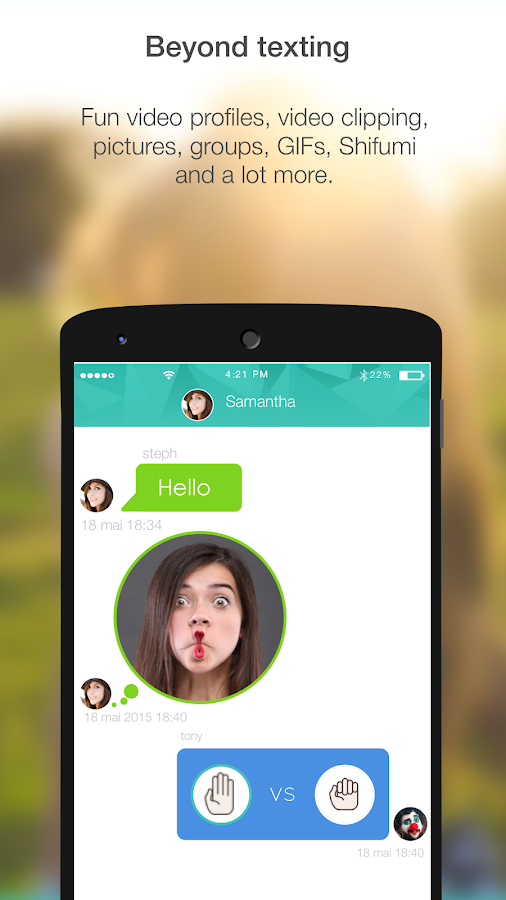 F7Messenger- screenshot