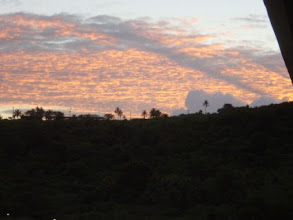 Photo: 2002年06月23日 グアムの朝  朝焼けが素晴らしい。