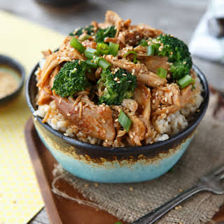 Slow Cooker Sesame Chicken and Broccoli.