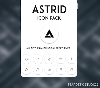 Astrid Icon Pack v11.0.0 [Patched] APK [Latest] 2