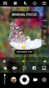 Manual Camera : DSLR Camera Professional (Procam) Screenshot