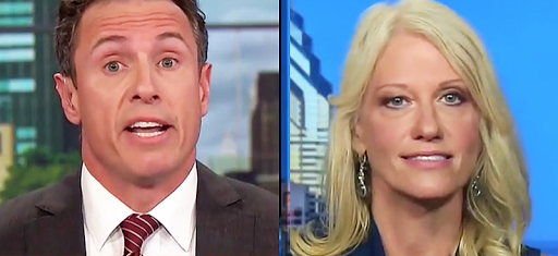 'Amateur climatologist' Cuomo of CNN spars with Kellyanne Conway