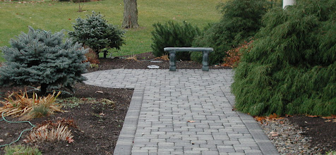 Photo: Roman Cobble Paving Stones (Antique Grey) http://northernlightslandscapecontractors.com