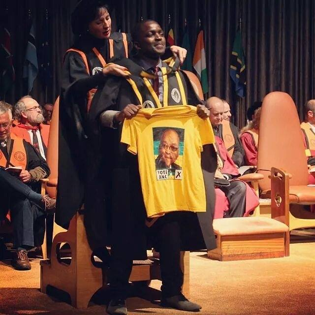 Mukovhe Morris Masutha graduated with a Masters of Science in Economic Geography at the University of Johannesburg .