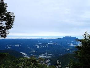 木曽御嶽山方面の展望