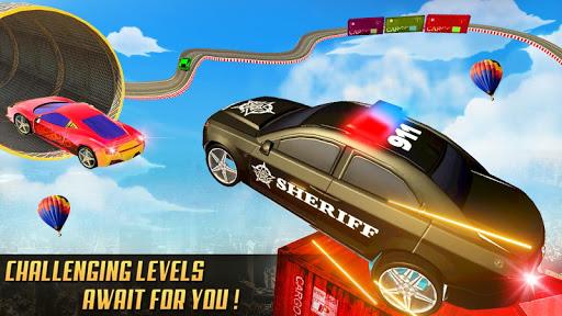 مطاردة سيارة الشرطة المستحيلة: ألعاب السيارات المثيرة 2020 لقطات 1