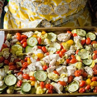 Sheet Pan Greek Chicken & Veggies {Paleo, Whole30} Recipe