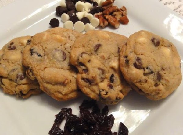Chocolate Cherry Chunk Cookies Recipe