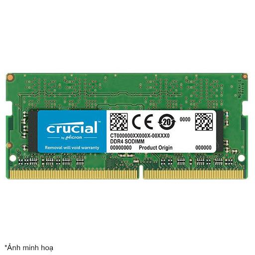 Bộ nhớ laptop DDR4 Crucial 16GB (2666) - CT16G4SFD8266