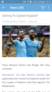 Manchester City News - The Citizens for PC-Windows 7,8,10 and Mac apk screenshot 1