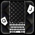 Black White Message Keyboard Theme icon