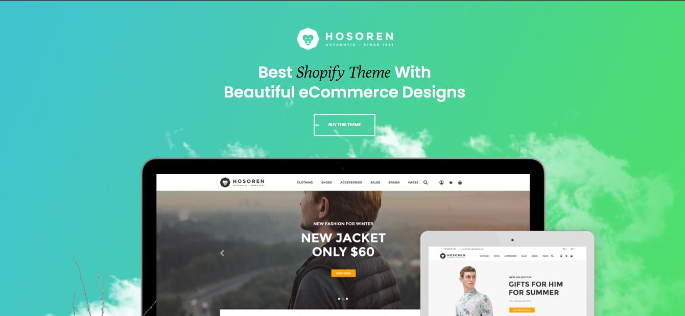 Hosoren - Shoes shopify theme