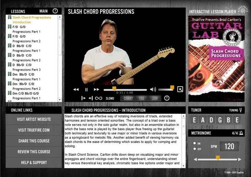 Brad Carlton - Slash Chord Progressions